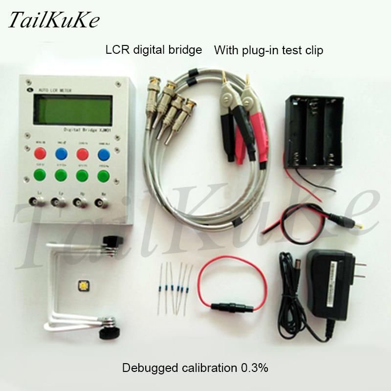 xjw01 - XJW01 LCR digital bridge tester  ESR Kit