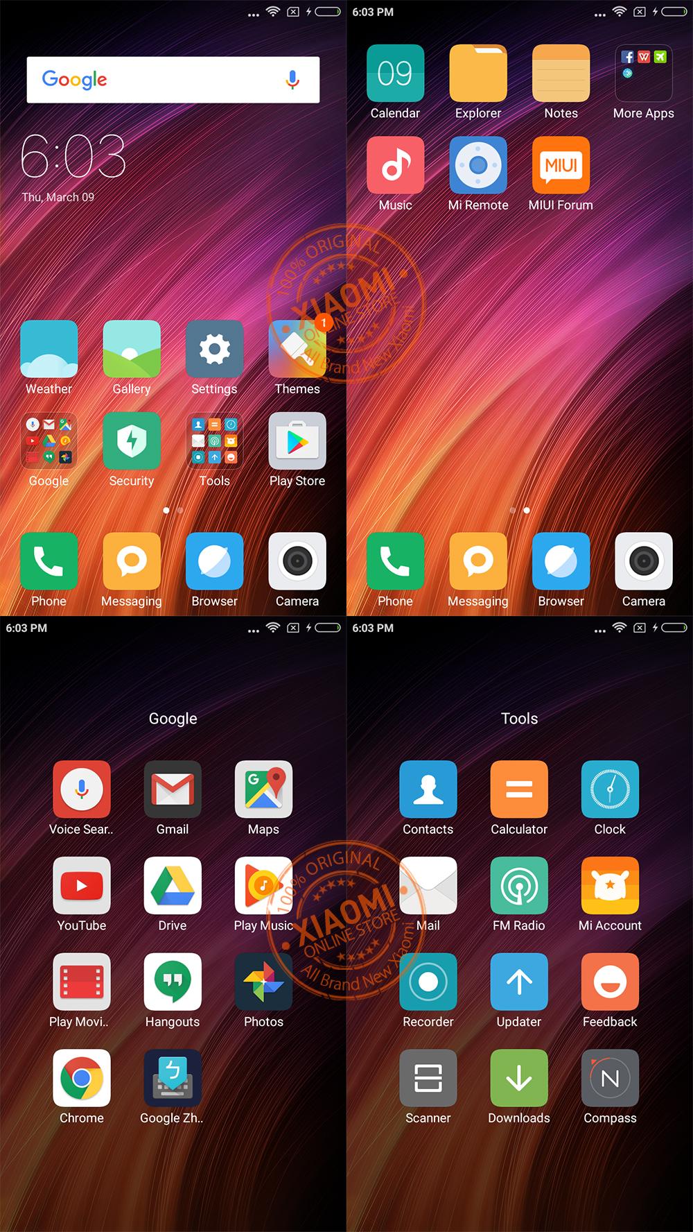redmi 4A about phone screenshot