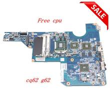 NOKOTION 597673-001 laptop Motherboard For HP G62 CQ62 Mainboard Socket S1 DDR3 HD4500 Free cpu tested works(China)