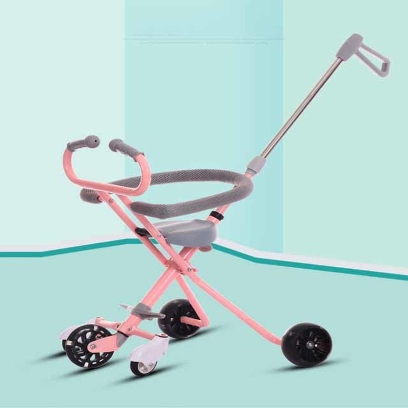2019 My Style  Infant Shining Stroller Ride on Bike Three-Wheeled trolley Childrens2019 My Style  Infant Shining Stroller Ride on Bike Three-Wheeled trolley Childrens