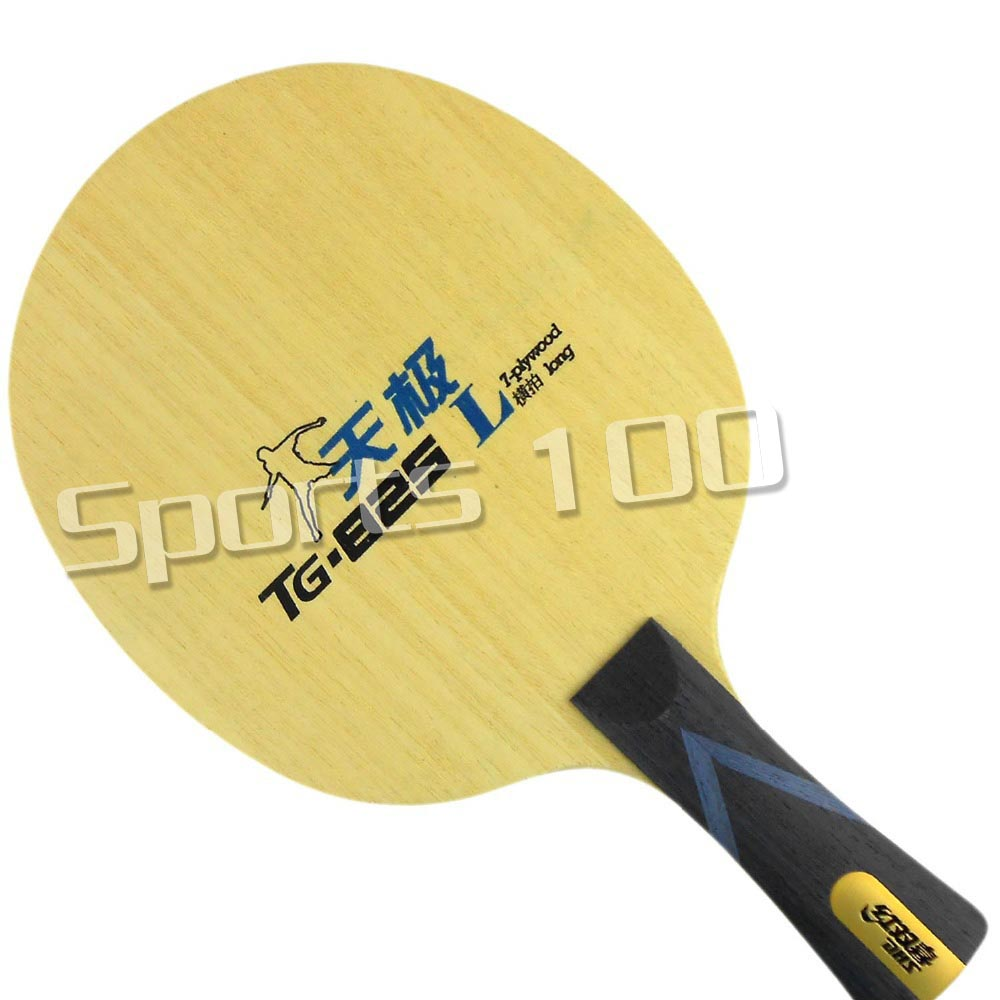 DHS TG-825 Table Tennis (PingPong) Blade Shakehand-FL (Long Handle) 2015 The new listing Factory Direct Selling dhs hurricane ning off table tennis pingpong blade chinese penhold short handle cs