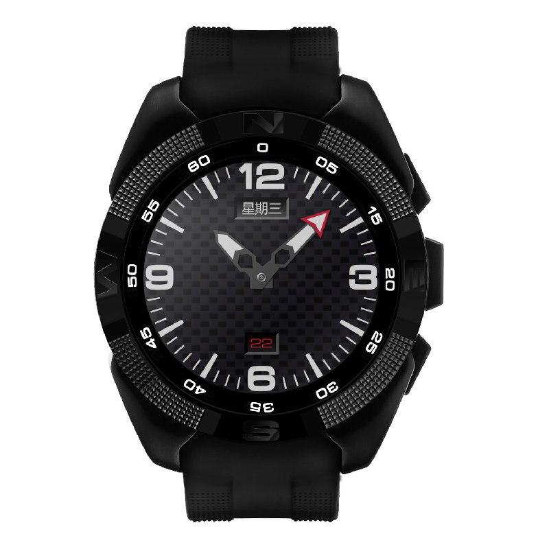 imágenes para No. 1 mb ram 64 mb rom g5 smart watch 128 heart rate monitor podómetro pulsera inteligente cámara remota de todo tipo de clima reloj