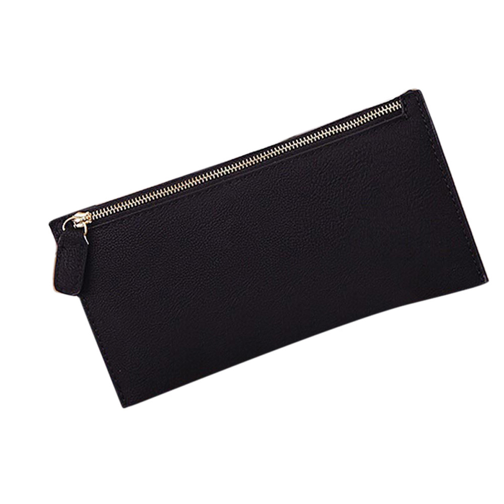 Fashion coin purse Women Leather Zipper Wallet Clutch Card Holder coin Purse Lady Long wallets high quality key holder purse #5 high quality floral wallet women long design lady hasp clutch wallet genuine leather female card holder wallets coin purse