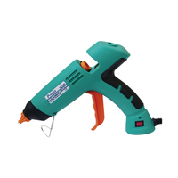 GK 390H Power Tool Professional 80W Melt Hot Glue Gun With LED Indicator For Adhesive Cardboard