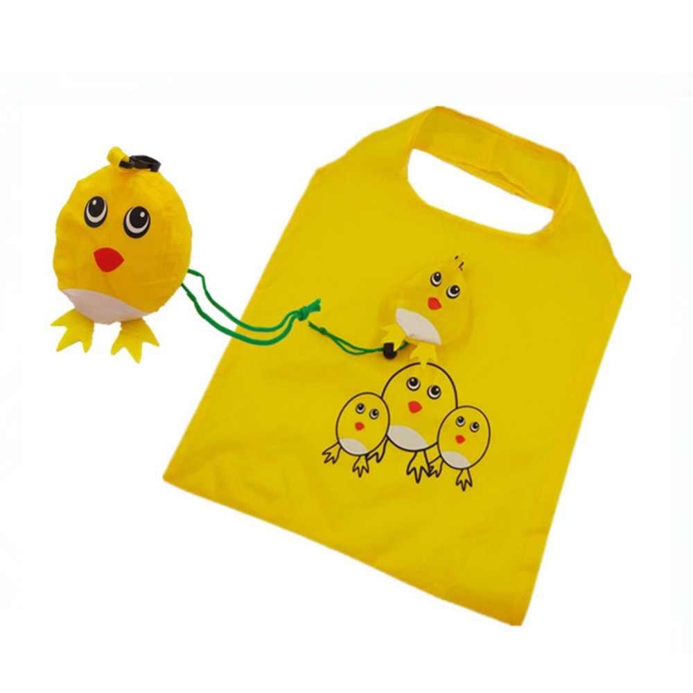 2019 новая милая дорожная Складная Сумочка сумка для продуктов многоразовая сумка для покупок Зверюшка портативные сумки для хранения