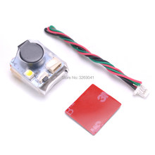 Finder JHE42B_S 5V Super Loud Buzzer Tracker 100dB LED Buzzer Alarm สำหรับ FPV Racing Drone VS JHE42B(China)