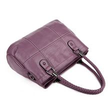 2018 New Fashion Ladies Hand Bag Women's Genuine Leather Handbag Black Leather Tote Bag Bolsas femininas Female Shoulder Bag