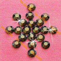 Ss34 GENUINE Swarovski Elements Metallic Light Gold 12 Pcs No Hotfix Rhinestone Glass 34ss 2058 FLATBACK