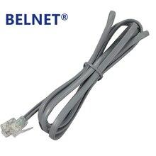 BELNET  RJ11 Copper Telephone Cable Wire With 6P2C Connectors 6P2C Plug RJ11 Telephone Fax Modems Cable Wire Line