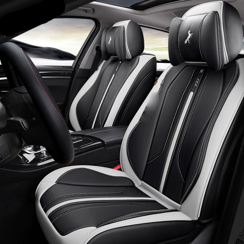 3D Full Surround Design Esportes Almofada Tampa de Assento Do Carro Para Assentos de Carros Para BMW 1 5 3 4 5 6 7 série GT M3 X1 X3 X4 X5 X6 SUV - 2