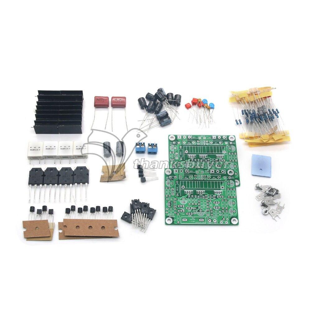Online Shop Class Ab Mosfet L7 Audio Power Amplifier Dual Channel 100w 1pair Ljm Mx50 Se 100wpower Amp Kit Stero