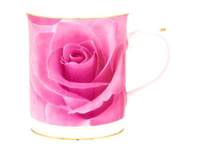 Mug Elan Gallery, pink rose, 400 ml mug elan gallery royal 300 ml