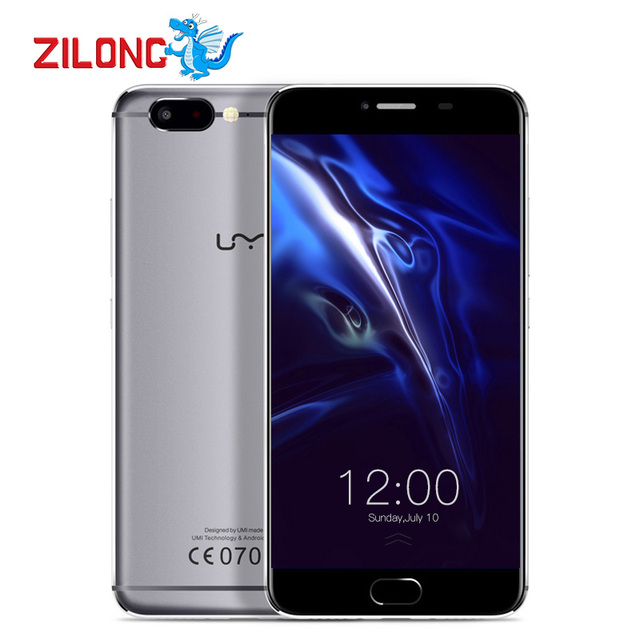 UMI Z 5.5 inch Smartphone Android 6.0 MTK Helio X27 Deca core 4G FDD LTE 4GB RAM 32GB ROM 3780mAh Dual Nano Card Mobile Phone