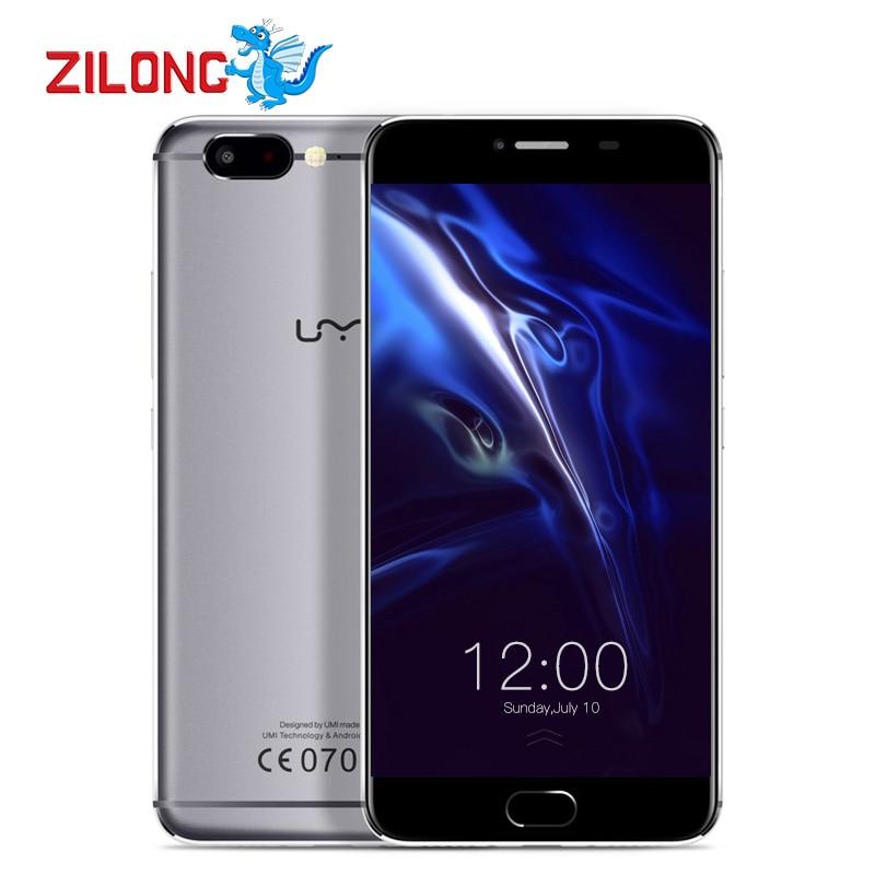 bilder für Umi z 5,5 zoll smartphone android 6.0 mtk helio x27 deca core 4G FDD LTE 4 GB RAM 32 GB ROM 3780 mAh Dual Nano Karte telefon