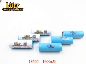 Image 3 - 2pcs/lot 18500 Batteries 18490 Real 1600mAh Li ion Lithium 3.7V Rechargeable FlashLight Torch Battery Power Bank LED Energy