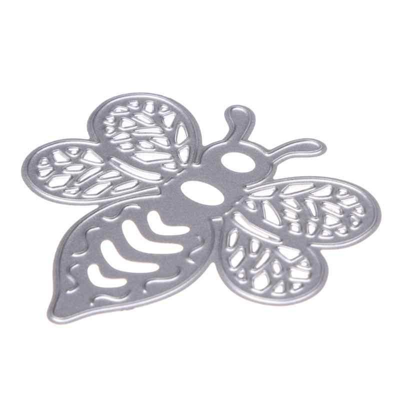 Bee Design Metall Schneiden Stirbt Schablonen für DIY Scrapbooking Karte Fotoalbum Präge Vorlage Decor Karte Papier Präge Handwerk
