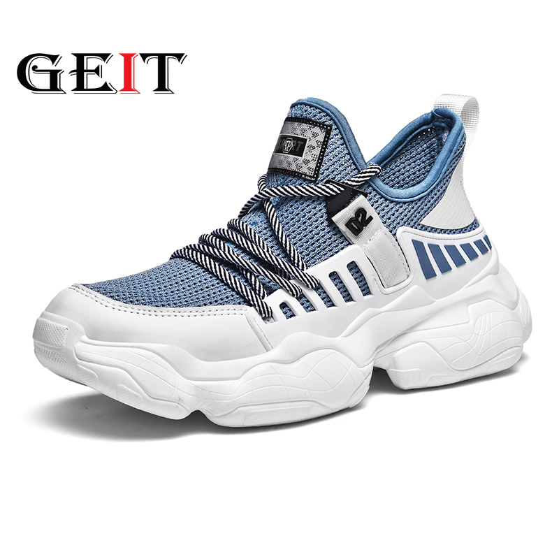 New Mens Air Mesh Running Shoes Breathable Athletic Training Outdoor Sport Shoes