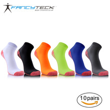Fancyteck 10 Pairs Compression Socks Miracle Comfortable Soft Tired Achy Unisex