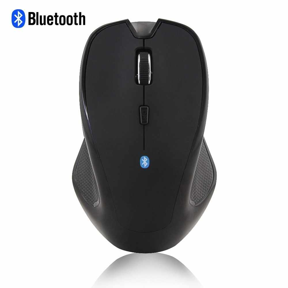 Bluetooth Wireless Mouse Ergonomico BT 3.0 Ottico con filo Computer Gaming Mause 6 Bottoni 1600 DPI Ufficio Gamer Mouse Per Il Computer Portatile Mac PC