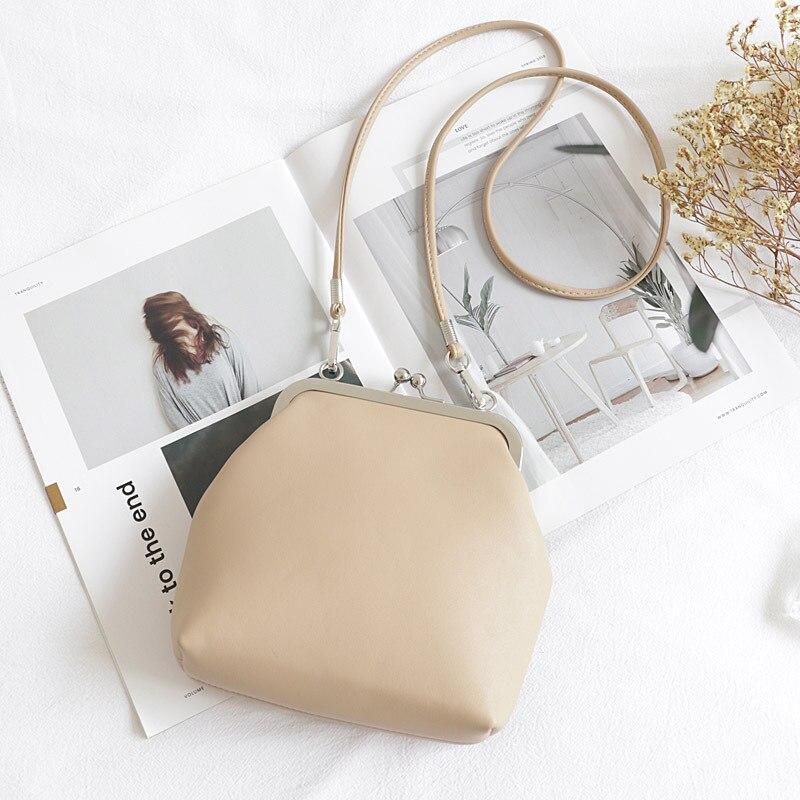 Небольшая женская сумка из искусственной кожи с застежкой, повседневная качественная сумка мессенджер из искусственной кожи, Женская Повседневная желтая сумка через плечо для подростков|Сумки с ручками|   | АлиЭкспресс