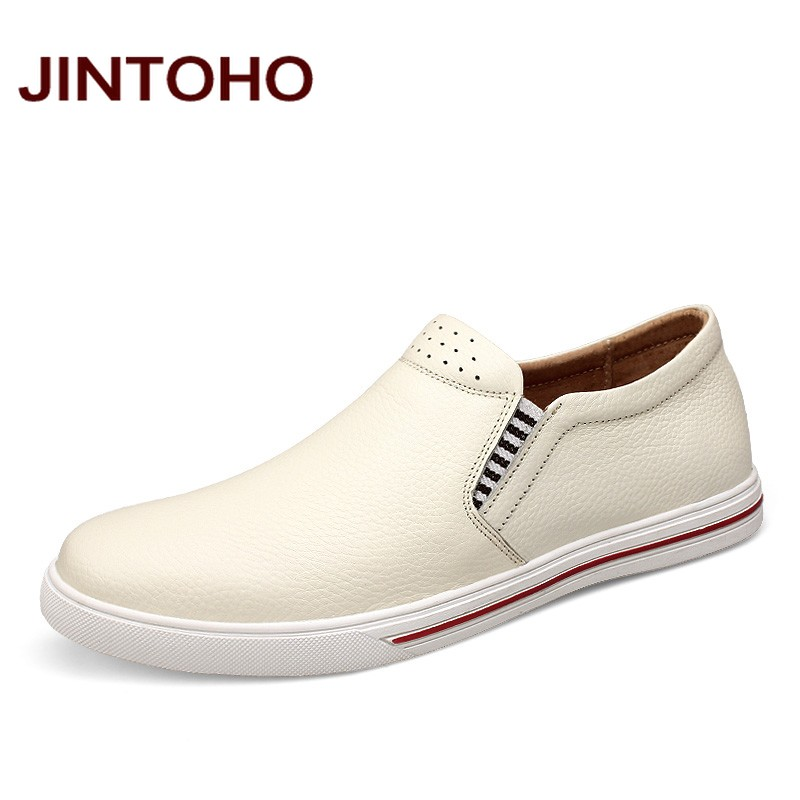 JINTOHO big size 38-48 casual men shoes slip on genuine leather men loafers luxury brand male shoes italian mens flats moccasins npezkgc new casual mens shoes suede men loafers moccasins fashion low slip on men flats shoes oxfords shoes big size 45 46 47 48