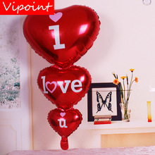 VIPOINT PARTY 96x50cm blue pink purple white hero foil balloons wedding event christmas halloween festival birthday party HY-185