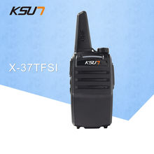 1 pcs ksun X-37TFSI walkie talkie 6 w alta potência 4000 mah li-ion bateria novo buxun banda dupla rádio em dois sentidos