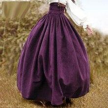 94de224e218 Готивечерние Вечеринка расширение юбка для женщин высокая Талия бинты  фиолетовый большие качели суд стиль модные элегантные вече.