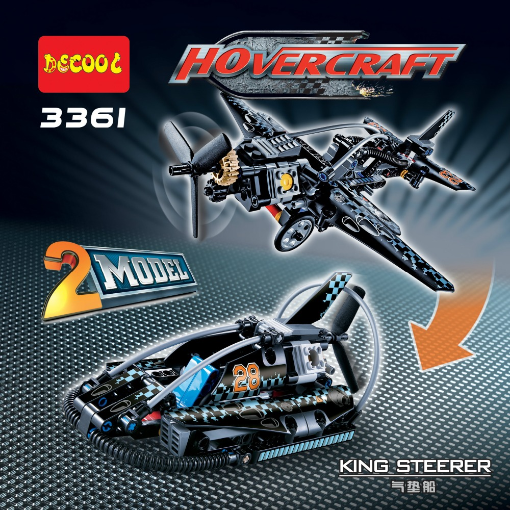 Toys for children Building Blocks china brand 3361 self-locking bricks Compatible with Lego Technic 42002 Hovercraft lepin 02012 city deepwater exploration vessel 60095 building blocks policeman toys children compatible with lego gift kid sets