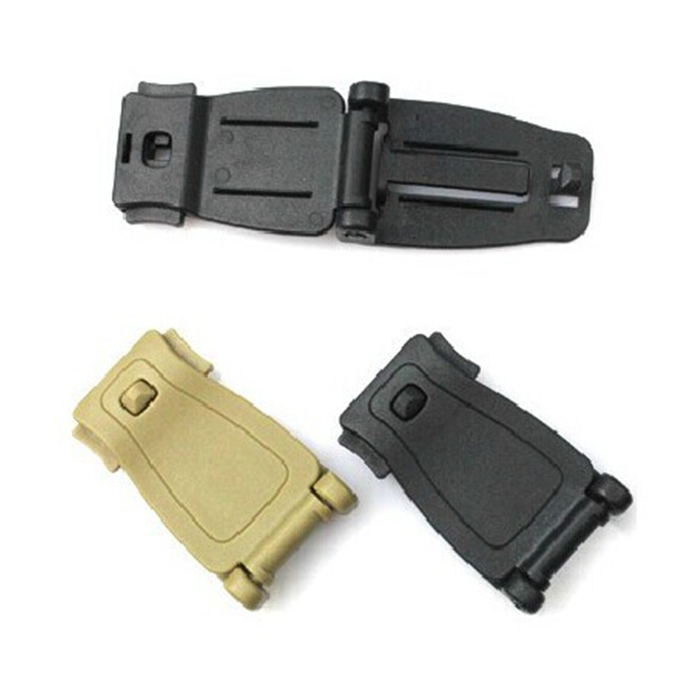 5Pcs Military MOLLE Nylon Webbing Tactical Buckle Connector For Outdoor Camping Hiking EDC Tool AA54-5P