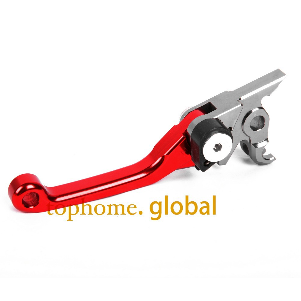 New Motorcycle Top Quality CNC Aluminum Pivot Dirt Bike Brake levers Red Colour For KTM 125SX/EXC(SIX DAYS)2009-2013 2010 2011 wmwmnu flower embroidery jeans female light blue casual pants capris 2017 spring new pockets straight jeans women bottom f180
