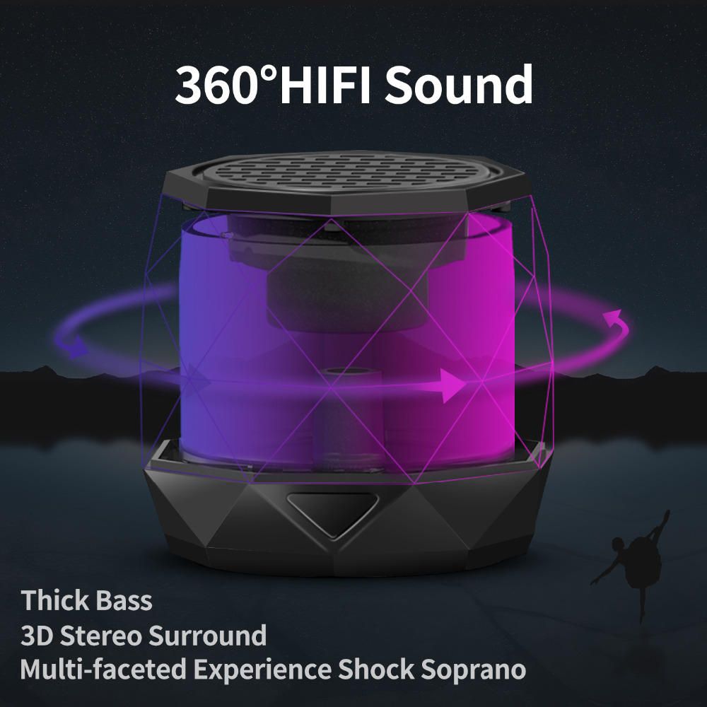 No Vibration Bluetooth Speaker