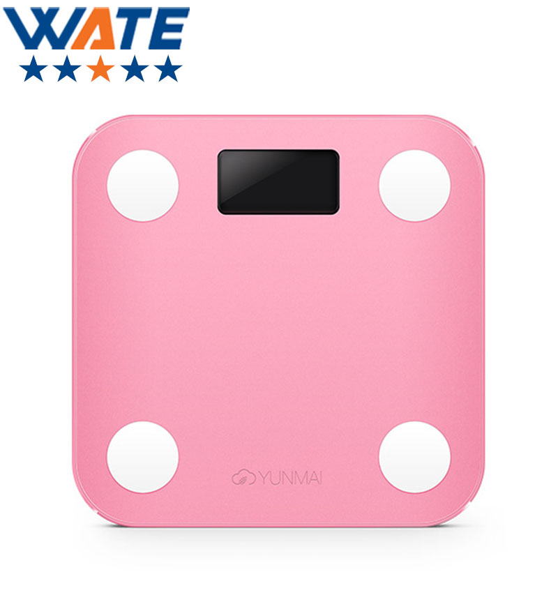 ФОТО mini smart weighing scale digital scale support Android4.3 IOS7.0 Bluetooth 4.0Smart ScalesMeasurement of body fat