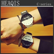 2017 New Quartz HEAQIS C Series Boy&Girl Watch Couple Watch Valentine's Gift montre femme montre homme relogio clock