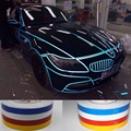 HUANLISUN 1.0CM x 1Meter Automobile luminous strip car DIY Reflective Sticker &motorcycle&bicycle Decoration Sticker