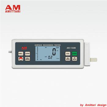 Marka oryginalne AMITTARI przyrząd do pomiaru chropowatości powierzchni metromierz USB BLUETOOTH wyjście danych fala filtrowania RC PC-RC gaussa D-P tanie i dobre opinie AR-132B