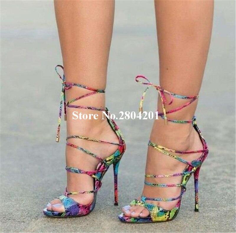 Women Peep Toe Rainbow Croc Summer Sandals Stiletto. Gladiator Shoes.  HTB1reCeOpXXXXcuaXXXq6xXFXXXO. 1 2 3 4. HTB1tPqCOpXXXXboXFXXq6xXFXXXH c2fa700193db