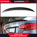 For BMW E92 Spoiler 3 Series 2 Door E92 M3 E92 Coupe Carbon fiber truck Spoiler Performance Style 2006 - 2012