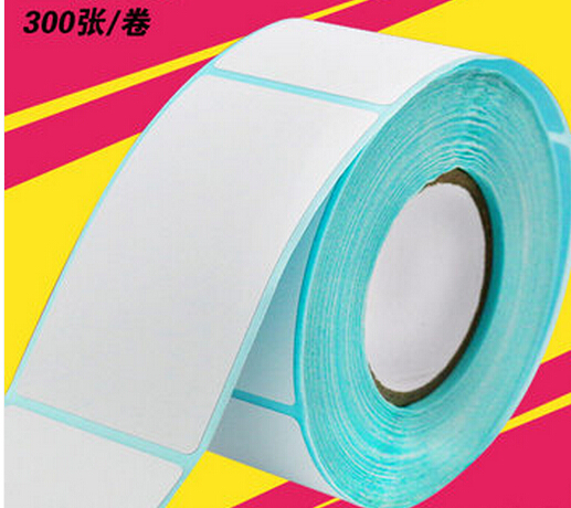 JP-4070 Thermal Adhesive Label Paper 40*70mm 400PCS/Roll Thermal Paper  Three Bar Code Paper Label Paper  2rolls/Lot