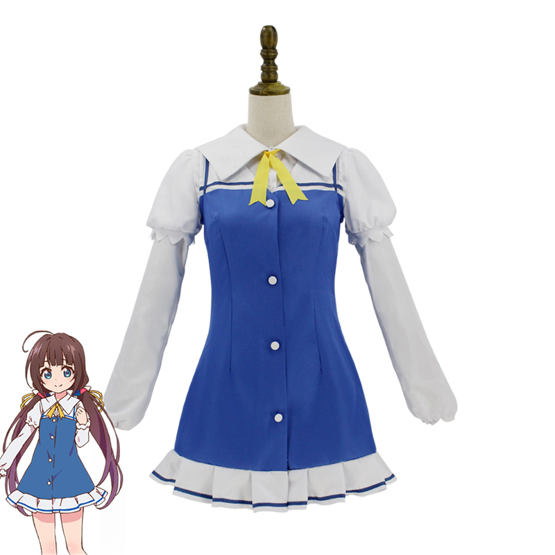 Ryuuou no Oshigoto Cosplay The Ryuos Work is Never Done! Hinatsuru Ai Dress Cosplay Costume Adult Women Halloween Carnival ...
