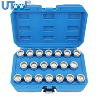 20pc Master Locking Wheel Nut Key Socket Set OEM Spline For Porsche Cayenne for VW