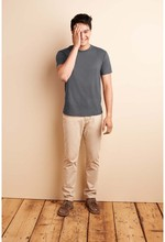T Shirt Men Brand Clothing Summer Solid T-shirt Male Casual Tshirt Fashion Mens Short Sleeve Plus Size 3XL 72cm Length