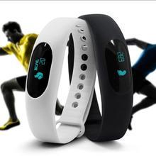 Высокое качество 0.49 дюймов bluetooth шагомер SmartBand Смарт часы браслет Run трекер Pulsera inteligente браслеты подарок