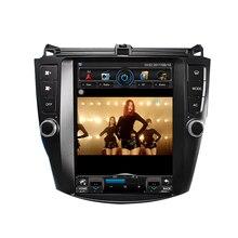 10,4 »Tesla стиль вертикальный экран Автомобильная магнитола на андроид радио для Honda Accord 7 2003-2007 gps навигация автомобильный мультимедийный проигрыватель