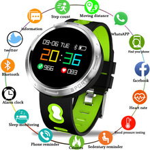 LIGE Men Watch Color OLED Waterproof tuch screen Smartwatch Heart Rate blood pressure Monitor Pedometer Fitness Blood Pressure стоимость
