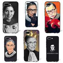 Fashion Ruth Bader Ginsburg Phone Cover for Huawei Honor Nova 3 Case 10 8 9 Lite 7A Pro 7X 7C 6A Y6 Prime 3i Soft