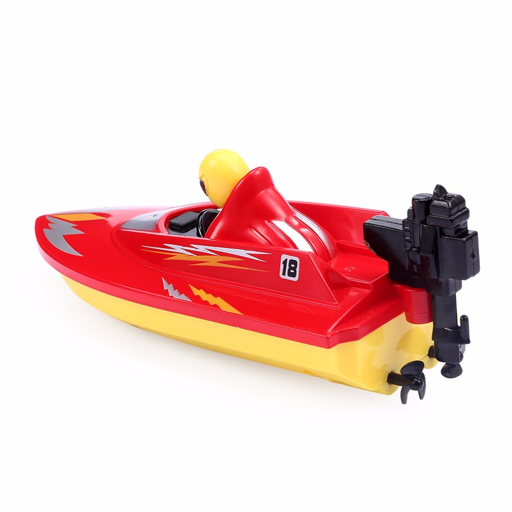 New RC Boat Outdoor Children Toys Radio Control RC 2 Channels Waterproof Mini Electric Boats Speed Boat Airship HUANQI 958A (9)