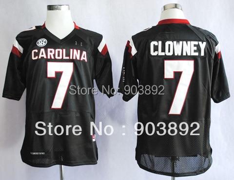 Ncaa South Carolina Gamecocks #7 Jadeveon Clowney college football jerseys adult/ youth mix order free shipping