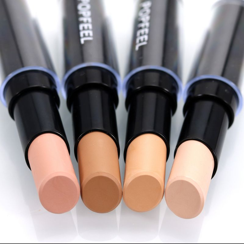 Singel Head Concealer Face Foundation Makeup Camouflage Concealer Pen Brand Natural Full Cover Smooth Contour Concealer