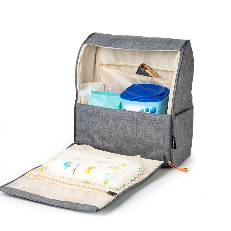 Baby Stroller Organizer Backpack Nappy Mummy Bag Cup Holders and Shoulder Strap Baby Stroller Accessories Travel Nappy Bag in Strollers Accessories from Mother Kids